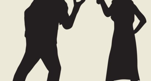 مشاجره همسران