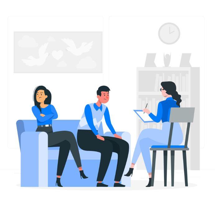 استفاده موثر از جلسات زوج درمانی