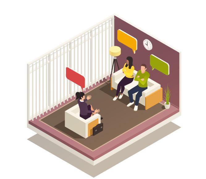 جلسات زوج درمانی جداگانه یا با هم